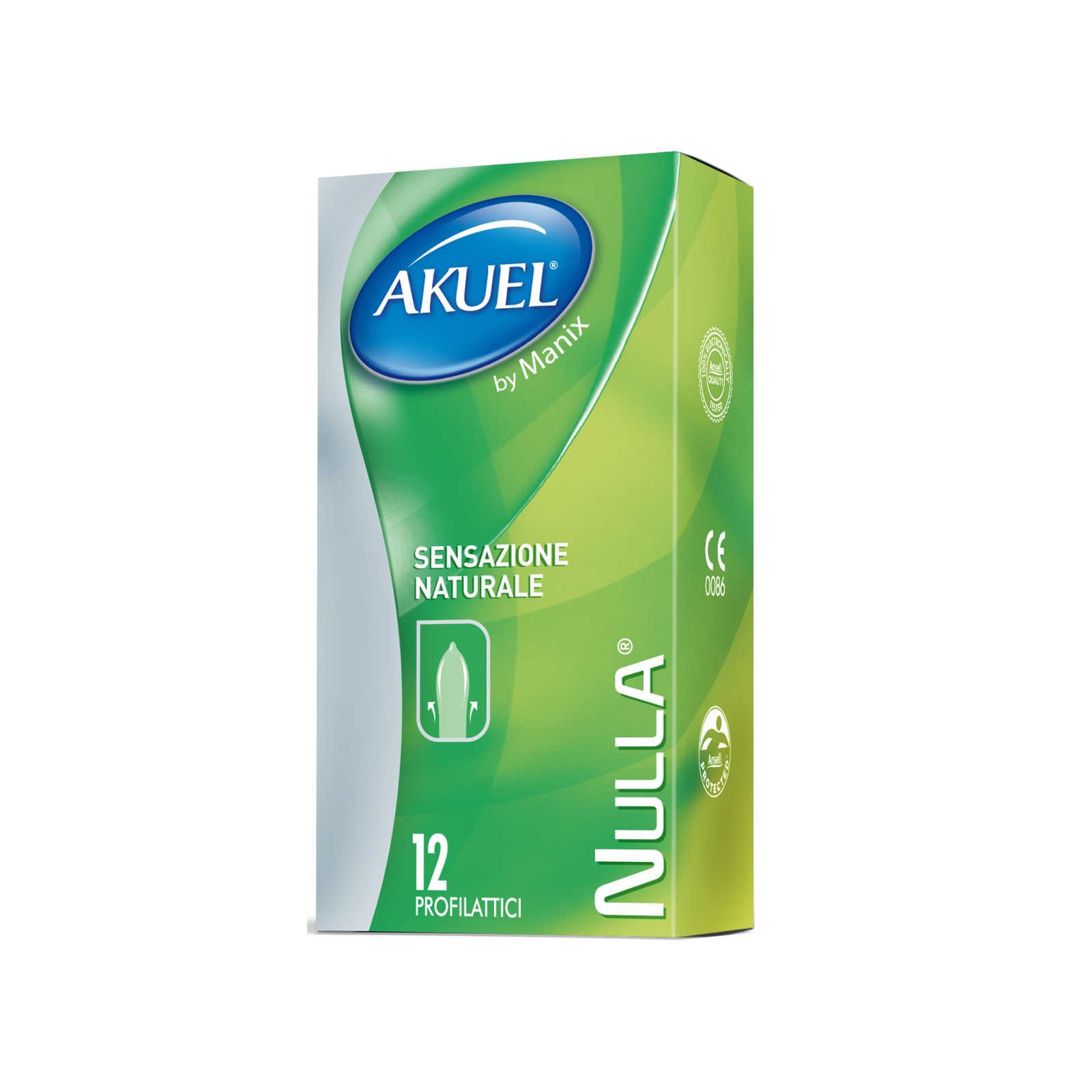 Akuel - Nulla - 12 Preservativi