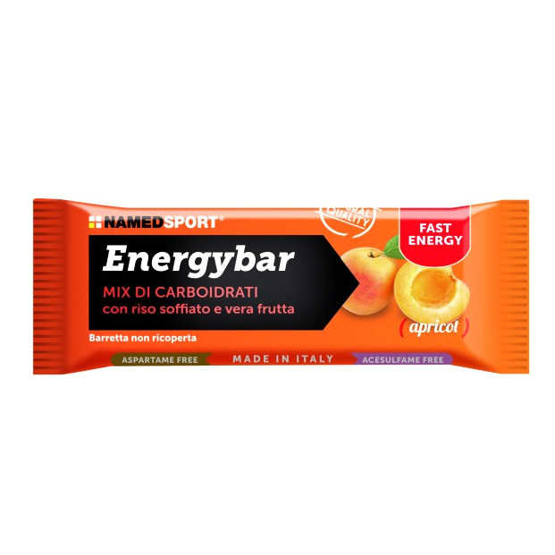 Named Sport - Energybar - Apricot - Barretta Energetica