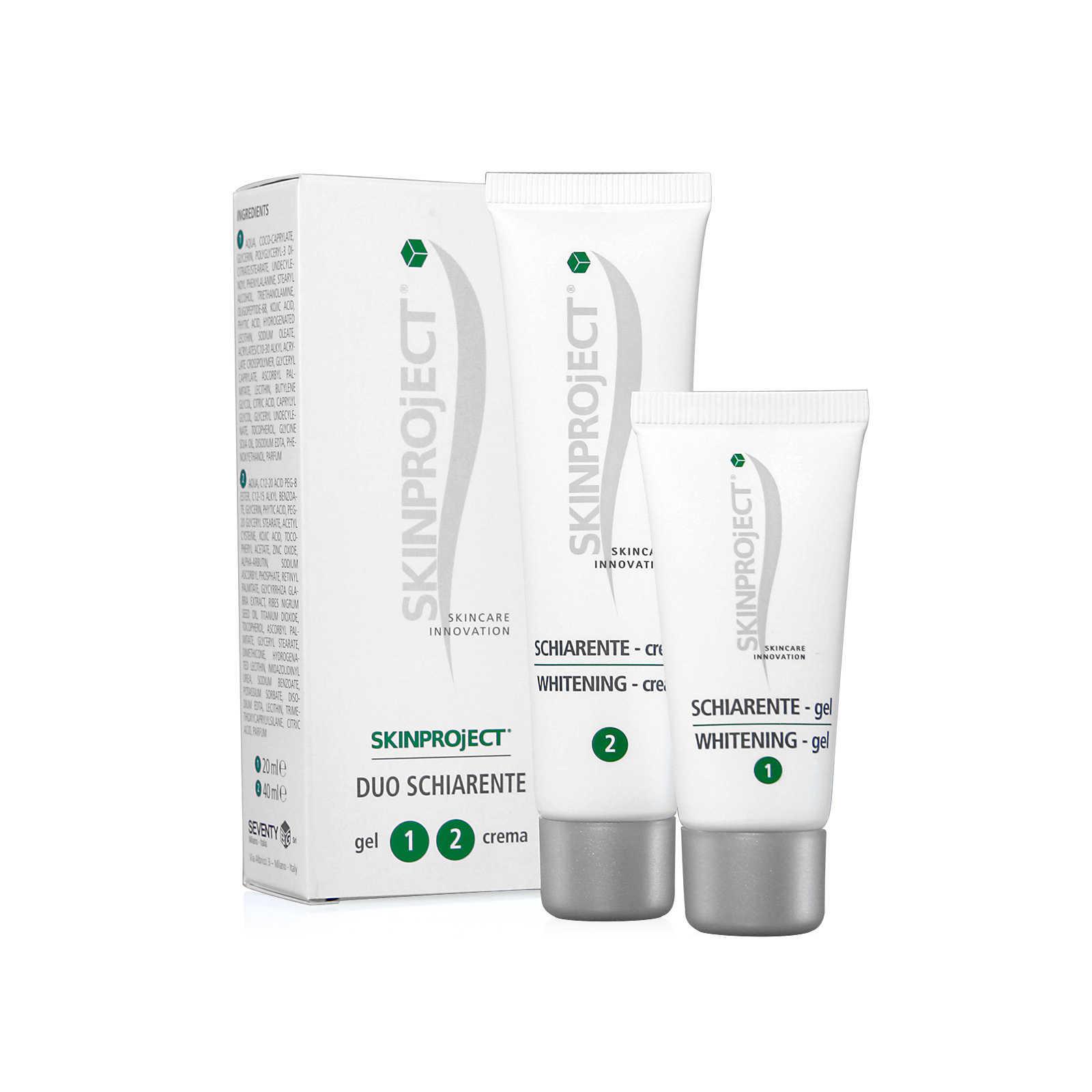 Skinproject Trattamento intensivo cutaneo - Duo Schiarente - Crema + Siero