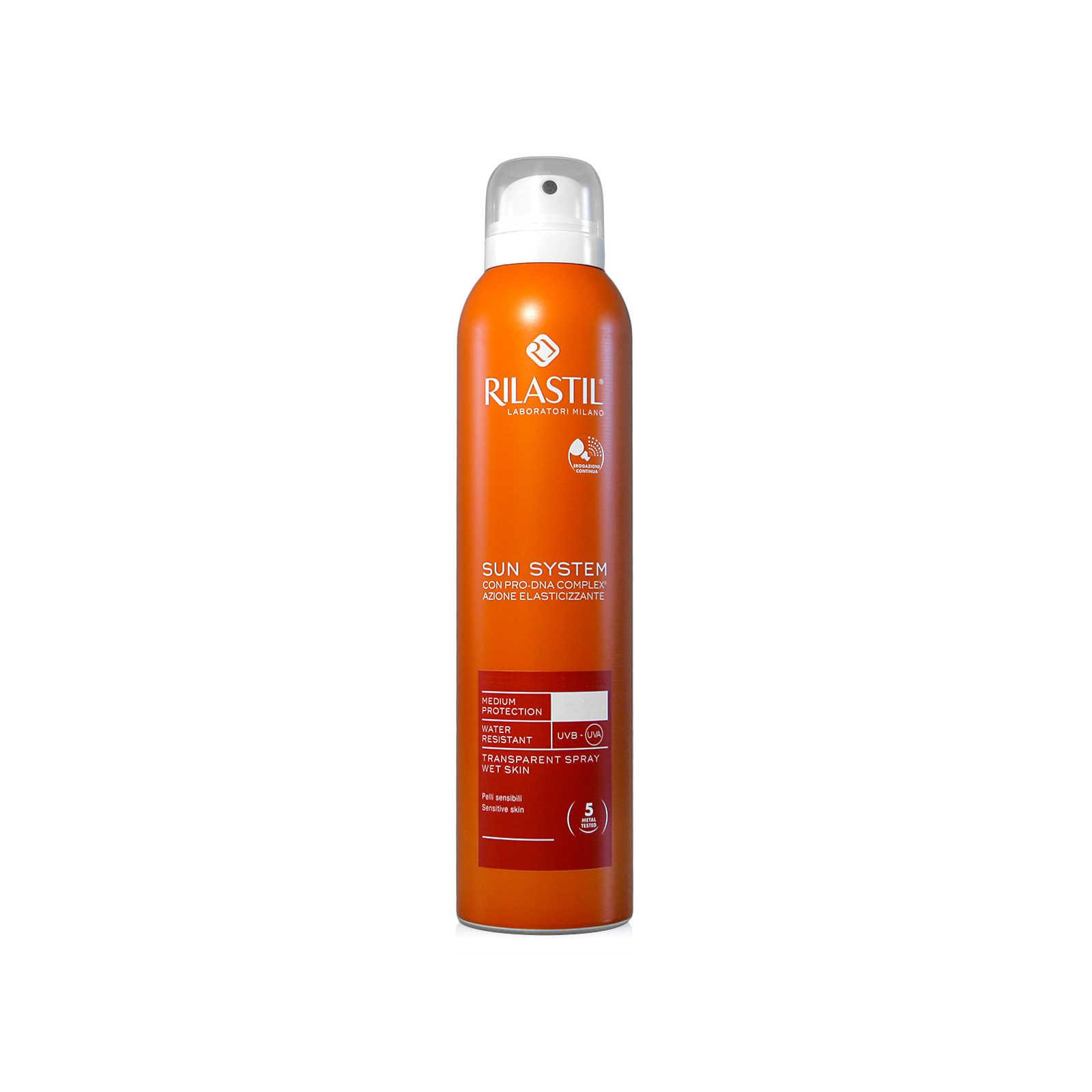 Rilastil - Sun System - Spray Protezione solare Trasparente - SPF30