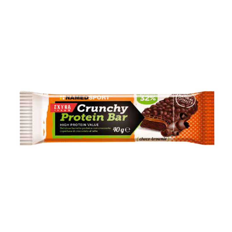 Named Sport - Barretta proteica - Crunchy Protein Bar - Choco Brownie