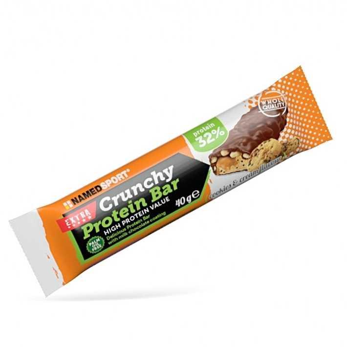 Named Sport - Crunchy Protein Bar - Cookies & Cream - Barretta Proteca