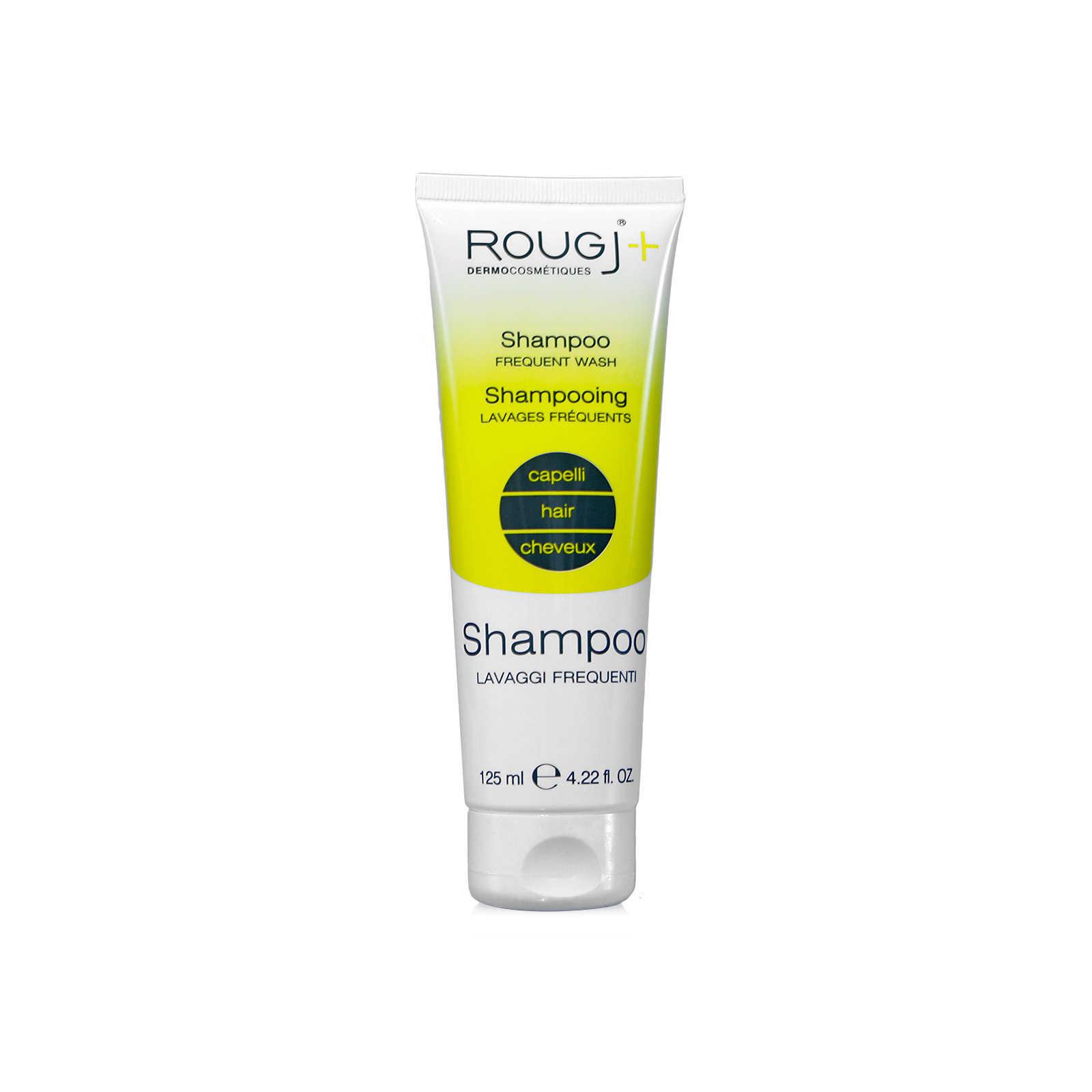 Rougj - Shampoo ricco di Sericina per lavaggi frequenti