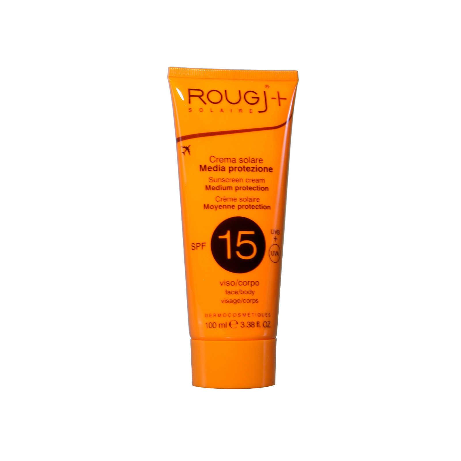 Rougj Crema Solare - Bassa protezione - SPF15