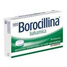 Neoborocillina - NEOBOROCILLINA BALS*20PAST
