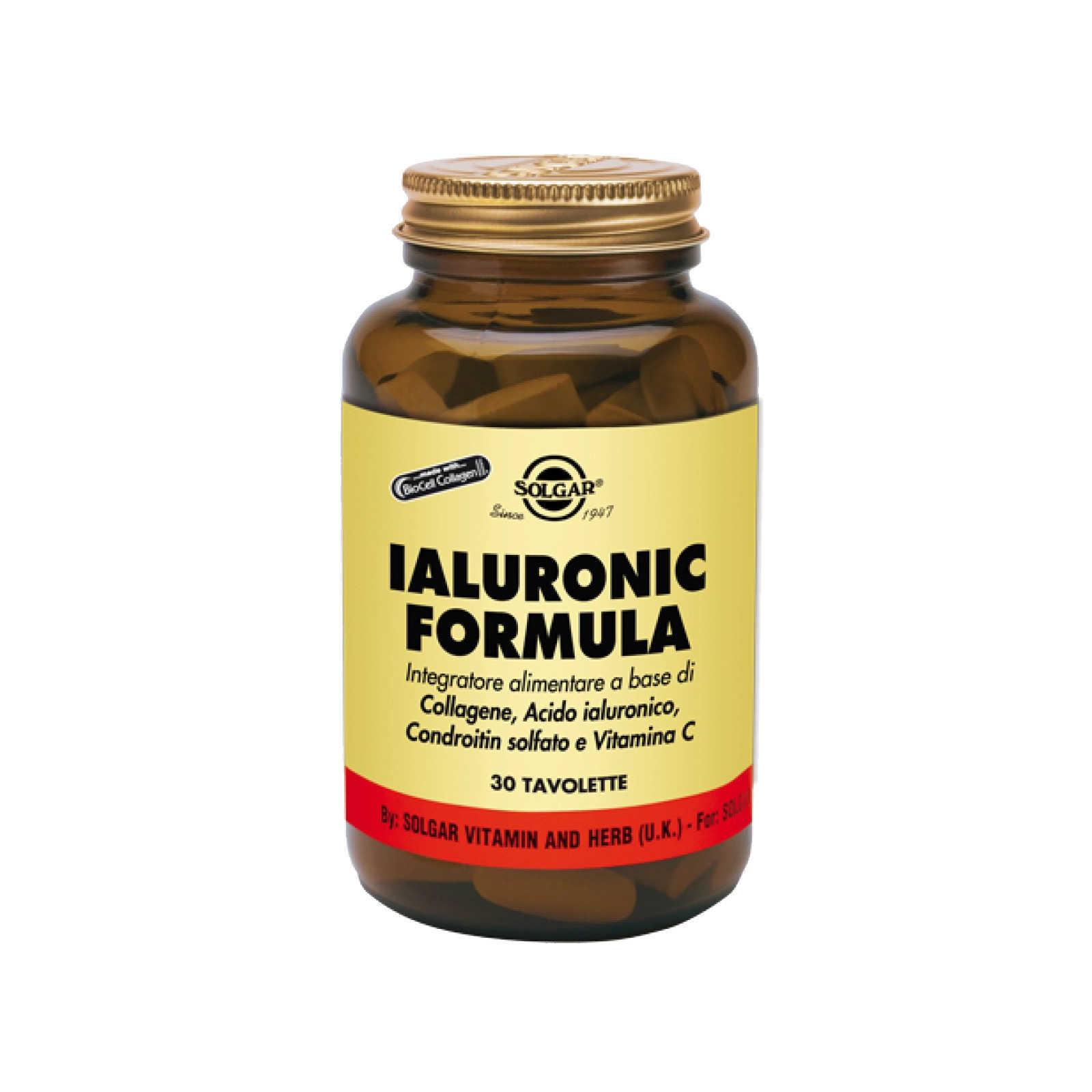 Solgar - Ialuronic Formula - Integratore Aliemtare