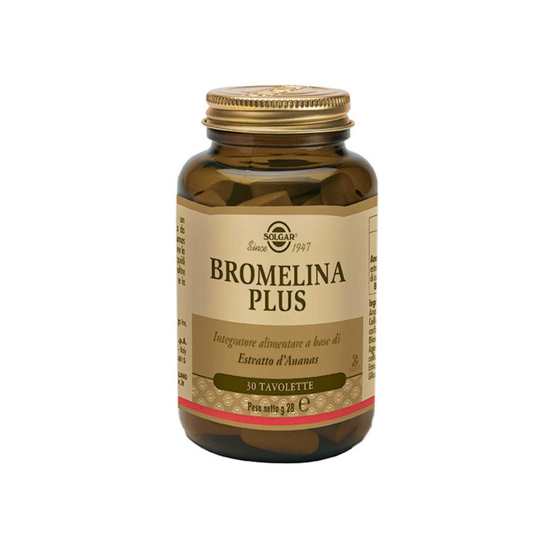 Solgar - Bromelina Plus
