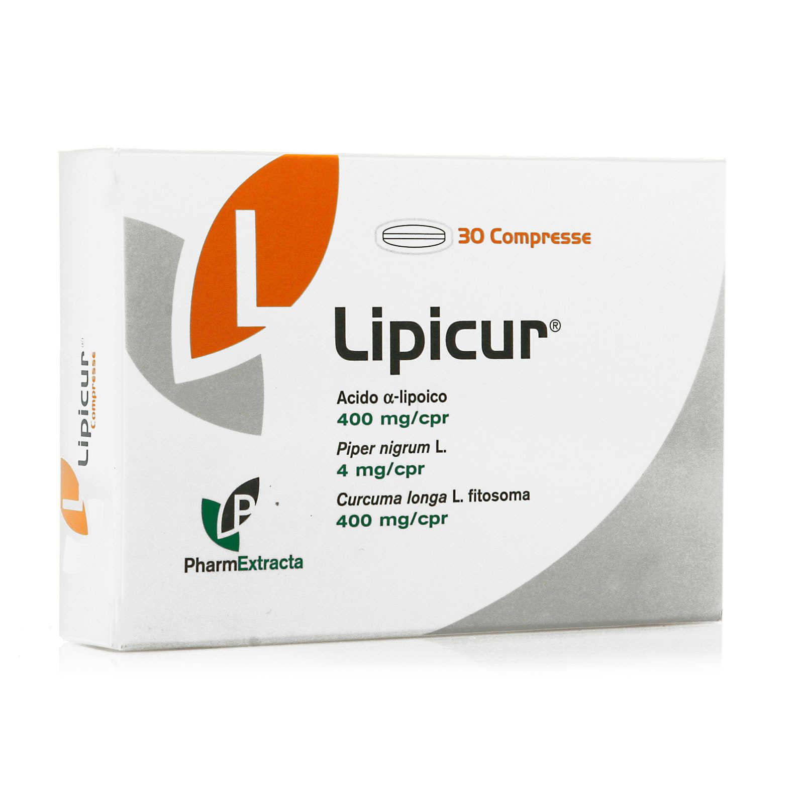 Lipicur - Integratore alimentare antiossidante
