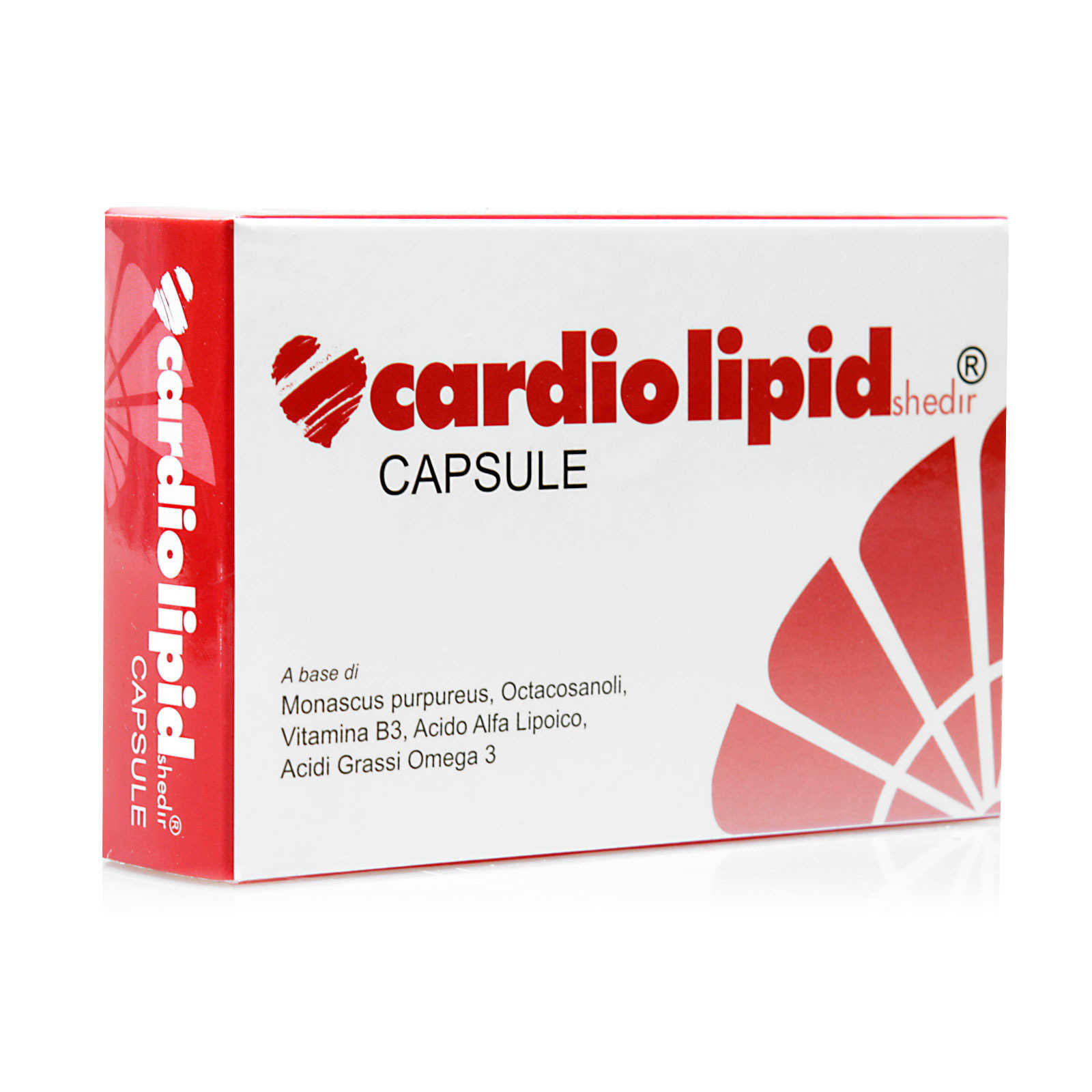 Shedir Pharma - Integratore alimentare con Omega3 - Cardiolipid Shedir