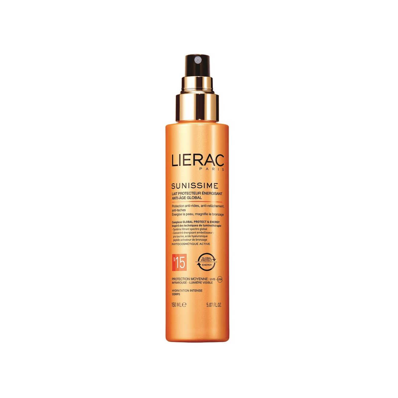 Lierac - Sunissime - Latte Protettivo Energizzante SPF15