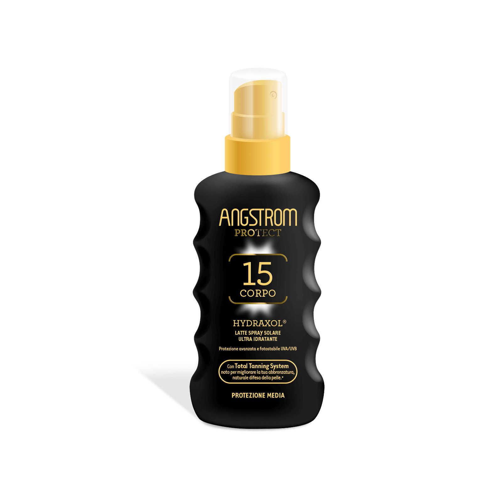 Angstrom - Hydraxol - Latte Solare Spray SPF15