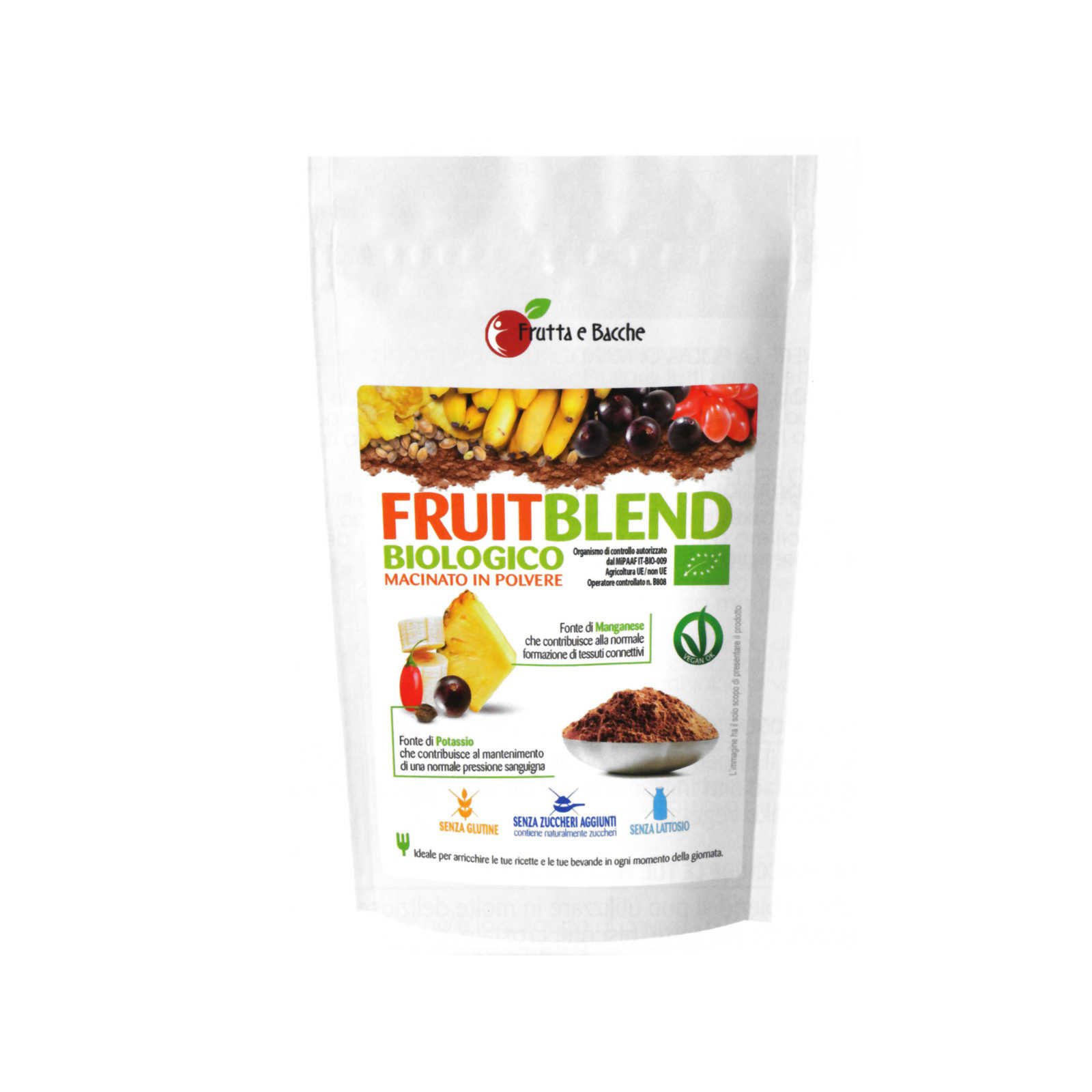 Frutta E Bacche - Fruit Blend Biologico