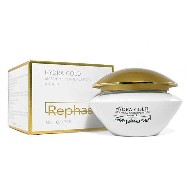 Rephase - Hydra Gold - Maschera Dermoplastica Antietà