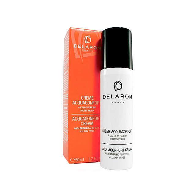 Delarom - Crema corpo Acquaconfort all'Aloe vera bio