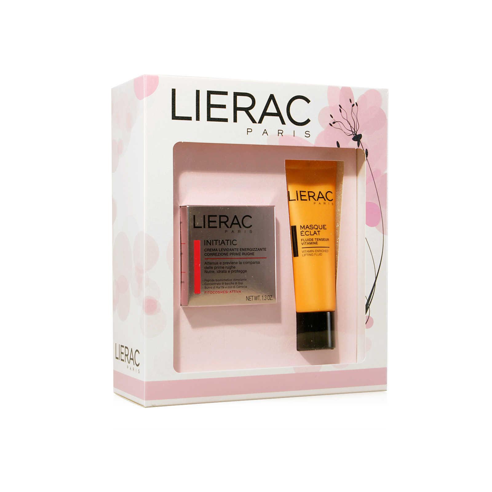 Lierac - Cofanetto Initiatic - con Masque Eclat - Trattamento viso