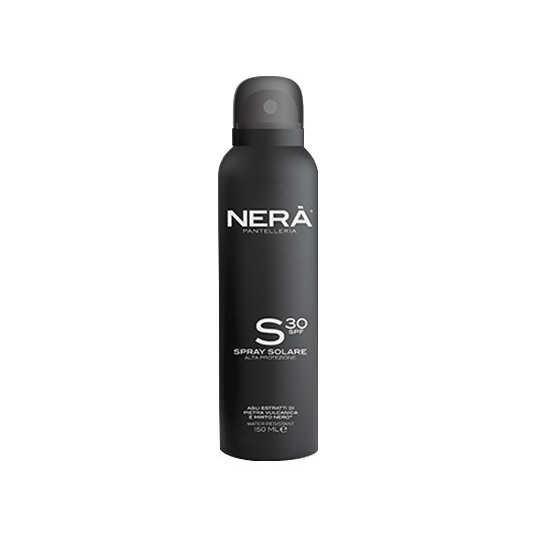 Nerà Pantelleria Spray Protezione Solare per pelli chiare e sensibili - Alta protezione SPF30