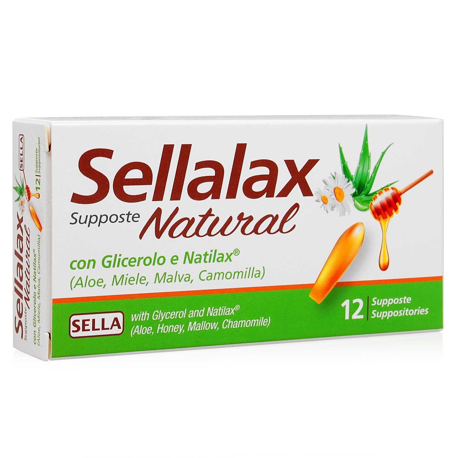 Sella Sellalax Natural Supposte