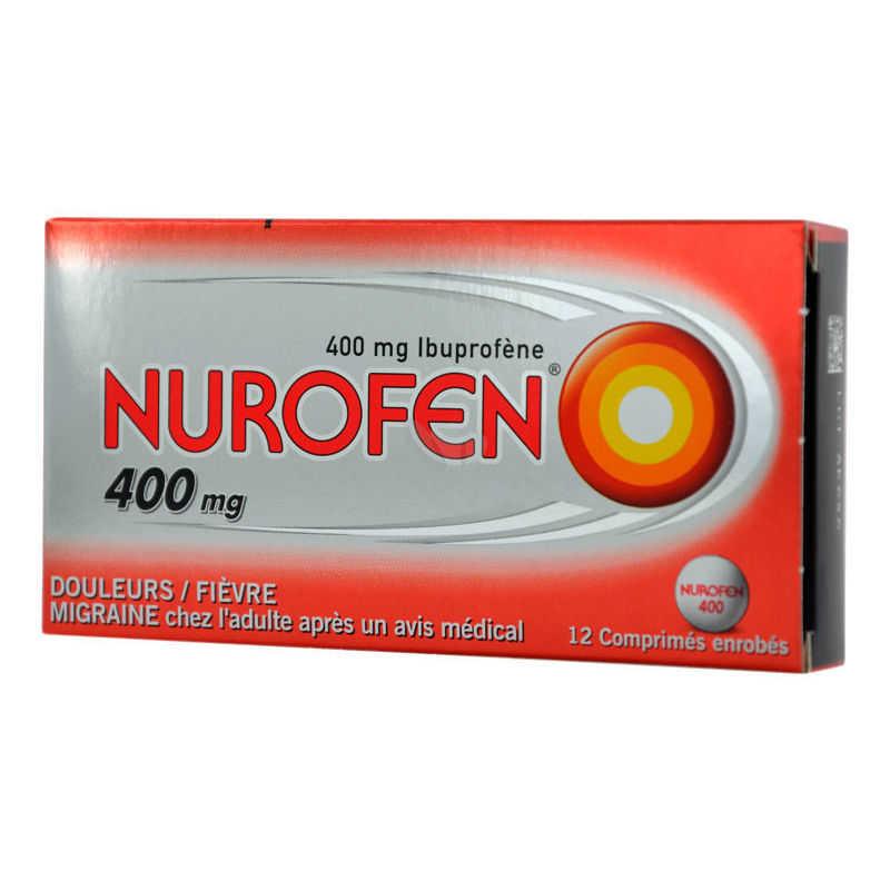 Nurofen - NUROFEN*12CPR RIV 400MG PVC/AL