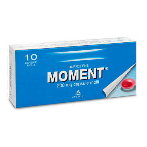 Moment - MOMENT*10CPS MOLLI 200MG