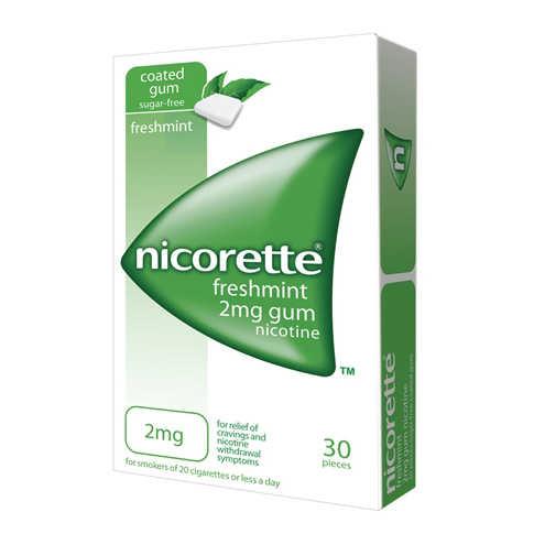 Nicorette - 30 Gomme da masticare - 2 mg