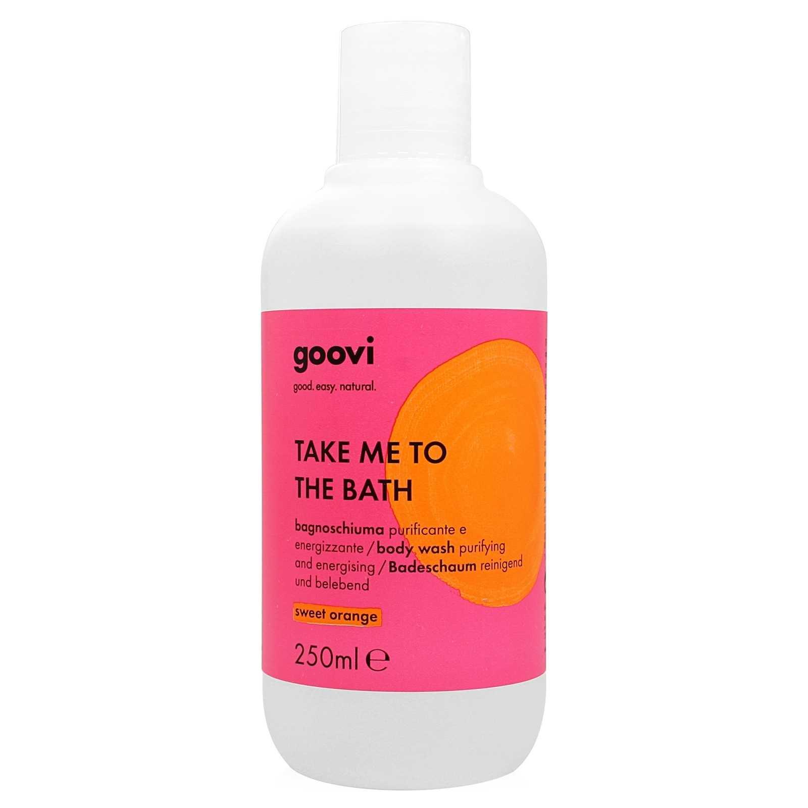Goovi - Take me to the Bath - Bagnoschiuma Purificante e Energizzante