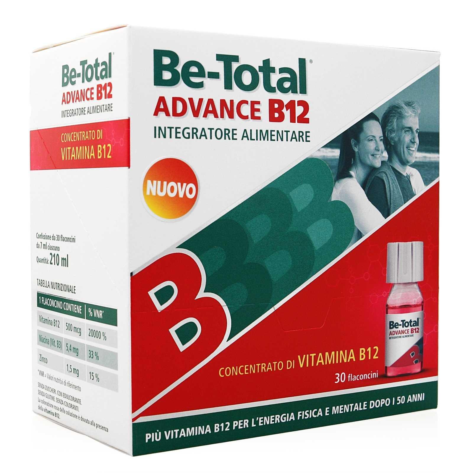 Be-total Advance B12 -  30 Flaconcini