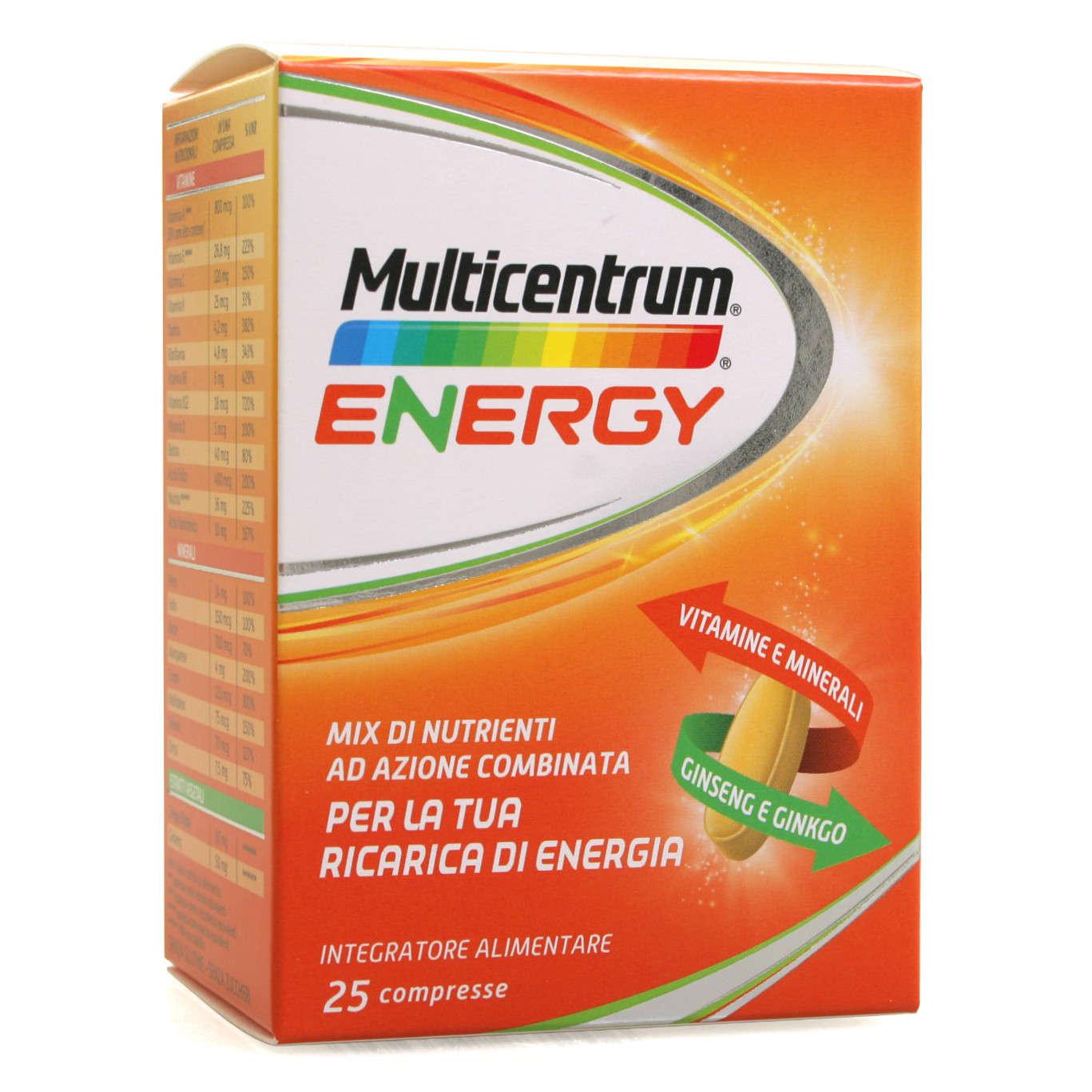 Multicentrum Energy - 25 compresse