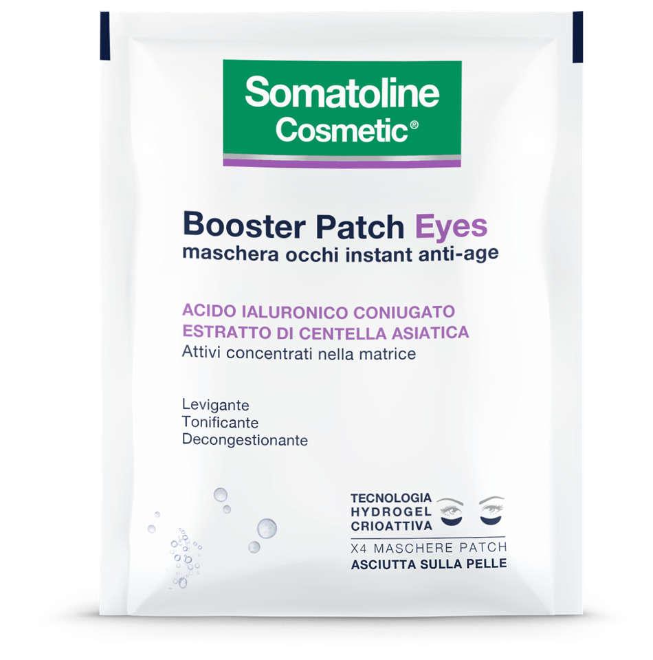 Somatoline - Booster Patch Eyes - Maschera occhi instant anti-age
