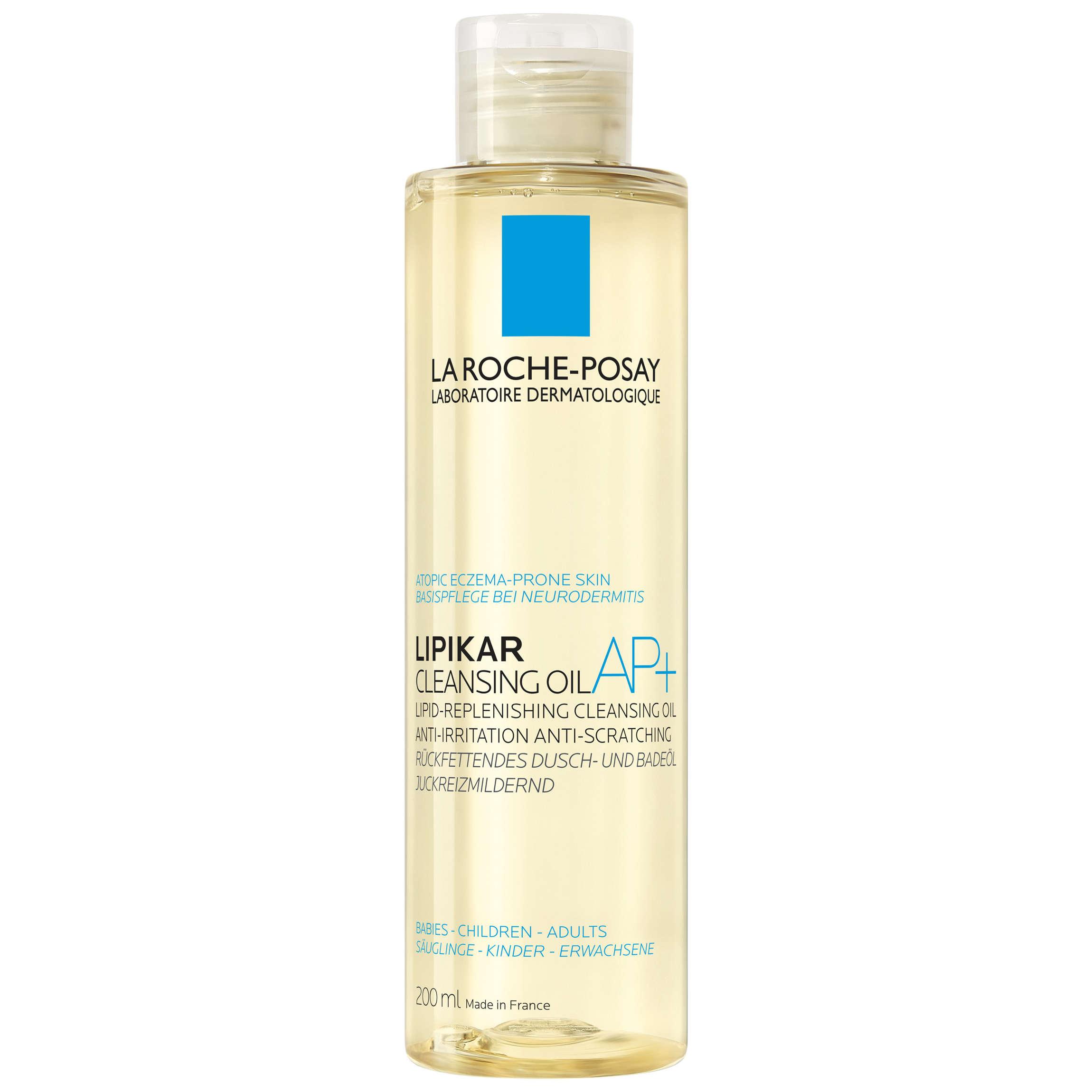 La Roche-posay - Lipikar - Olio detergente relipidante AP+