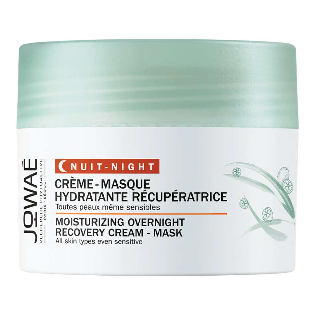 Jowaé Crema-maschera idratante rigenerante notte