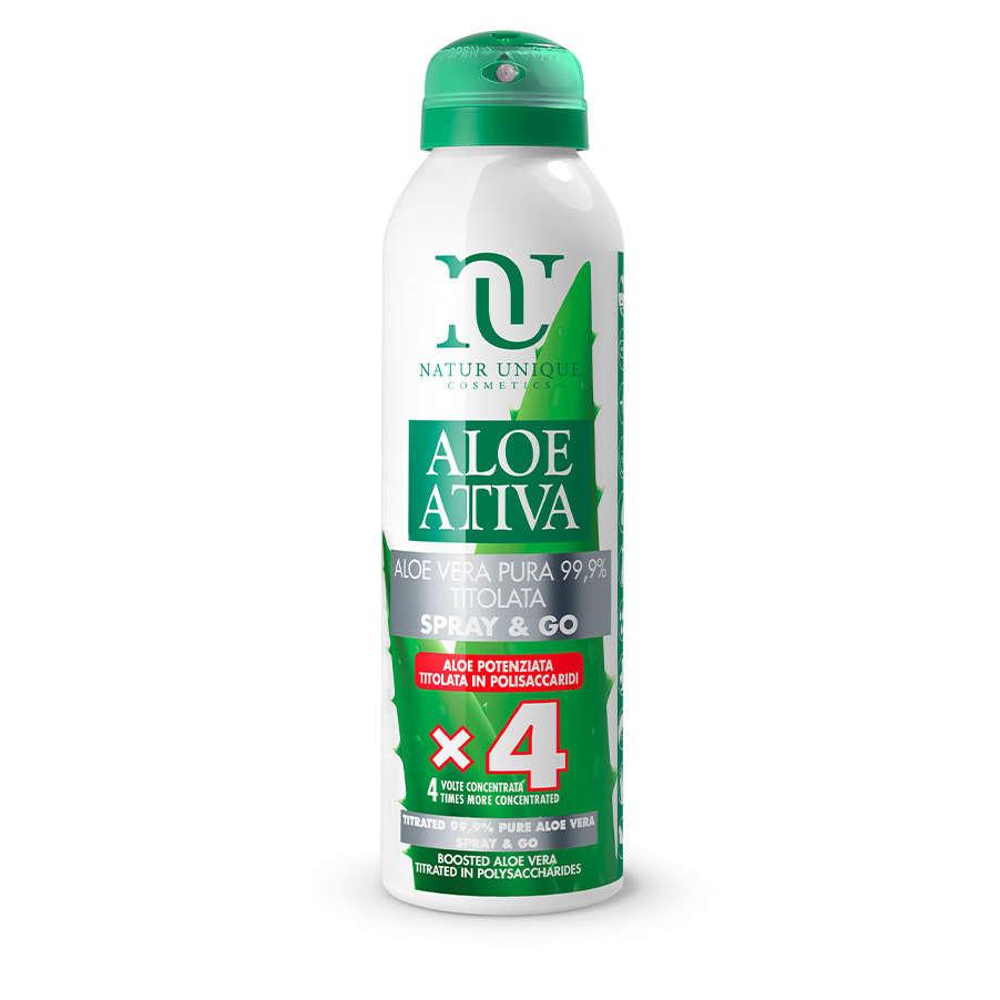 Natur Unique - Aloe Potenziata - Spray & Go