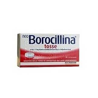 Neoborocillina - NEOBOROCILLINA TOSSE*20PASTL