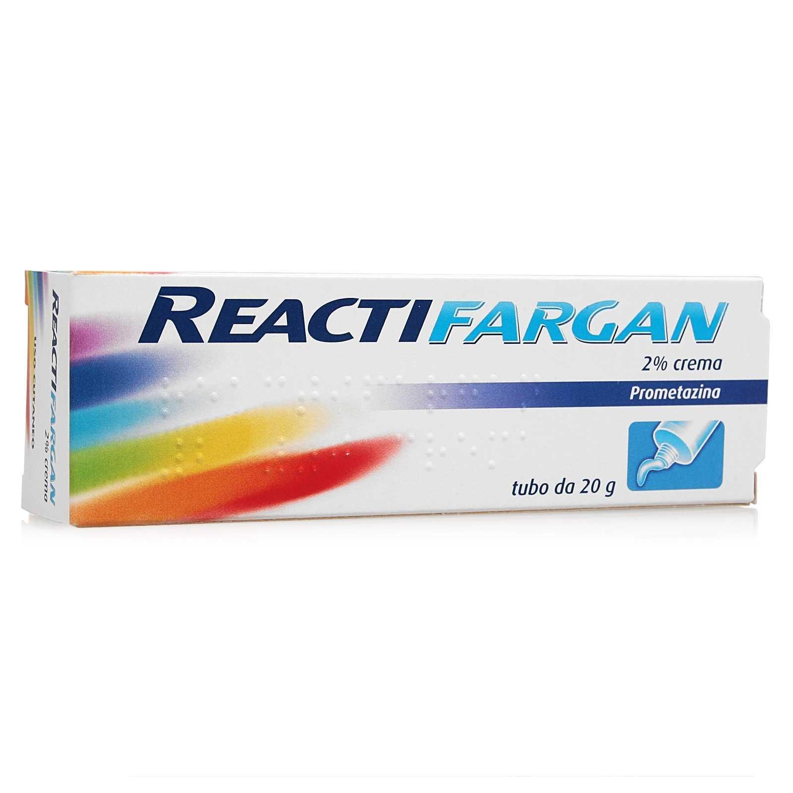 Reactifargan - Crema