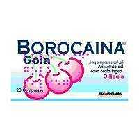 Borocaina - BOROCAINA GOLA*20PAST1,5MG CIL