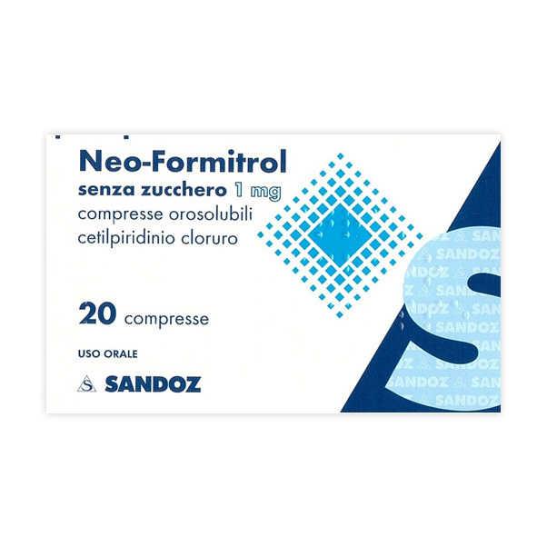 Neoformitrol - NEOFORMITROL*20CPR OROSOL S/Z