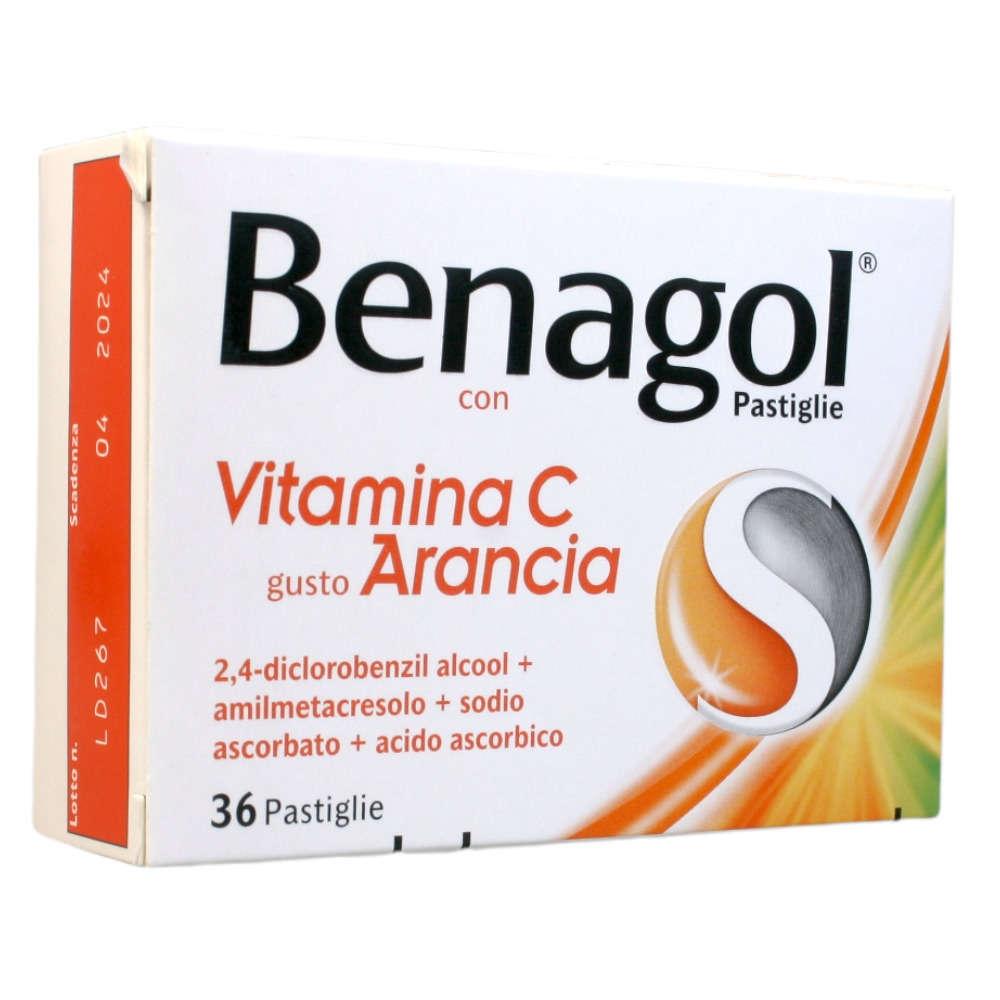 Benagol - BENAGOL VIT C*36PAST ARANCIA