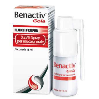 Benactiv - BENACTIV GOLA*SPRAY 15ML 0,25%