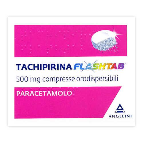 Tachipirina - TACHIPIRINA FLASHTAB*16CPR 500