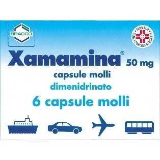 Xamamina - XAMAMINA*6CPS 50MG