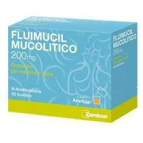Fluimucil - FLUIMUCIL MUC*OS 30BUST 200MG