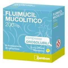 Fluimucil - FLUIMUCIL MUCOL*20CPR ORO200MG