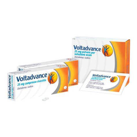 Voltadvance - VOLTADVANCE*20CPR RIV 25MG