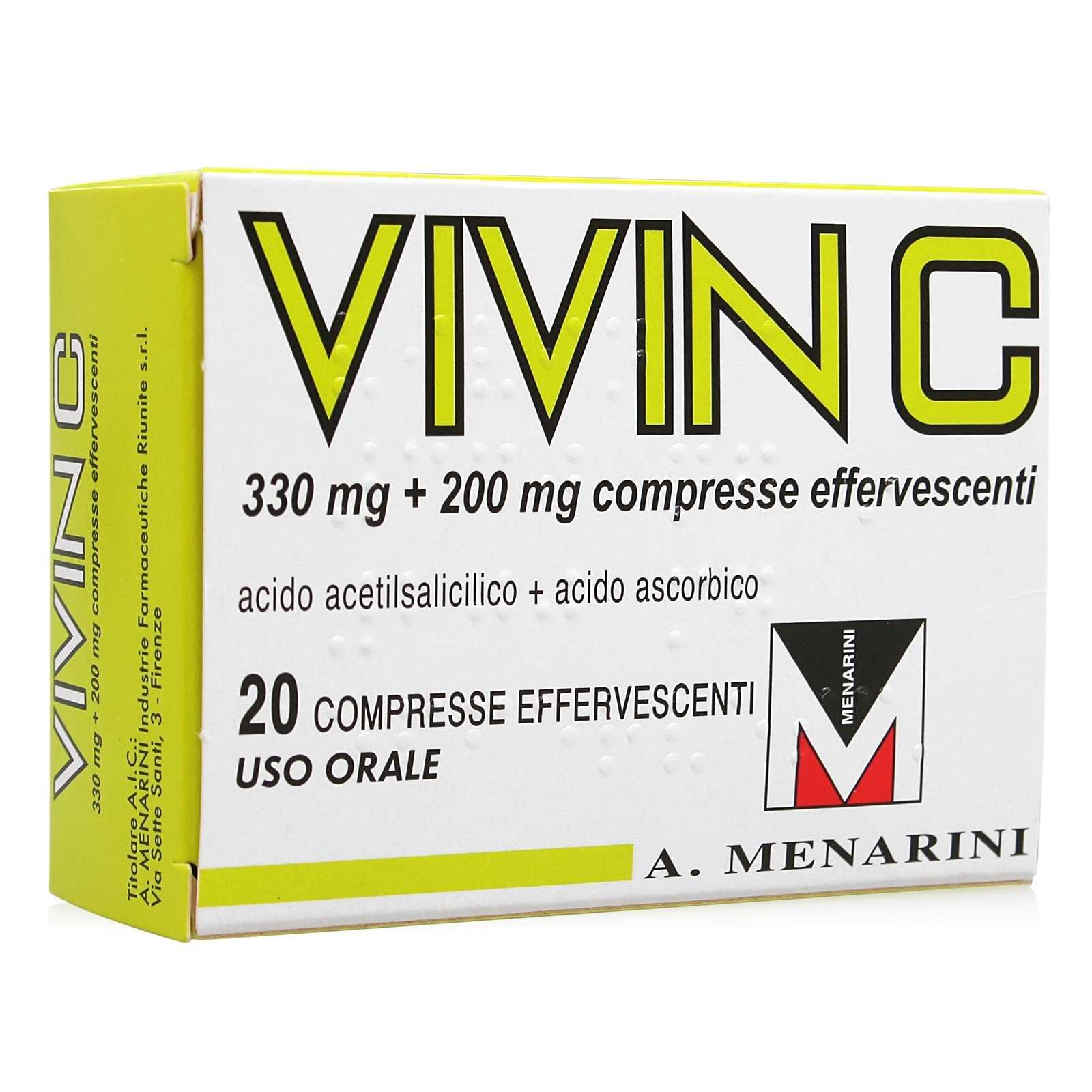 Vivin C - Compresse Effervescenti