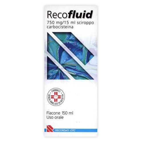Recofluid - RECOFLUID*SCIR FL 150ML 750MG