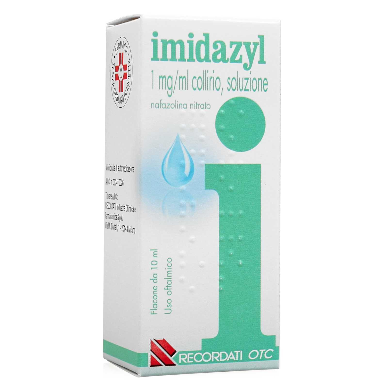 Imidazyl - Collirio - Flaconcino