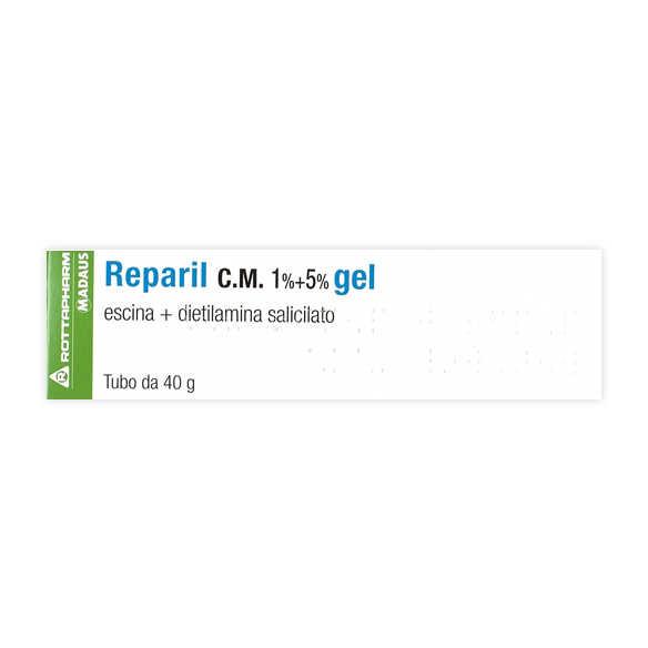 Reparil - REPARIL GEL CM*40G 1%+5%