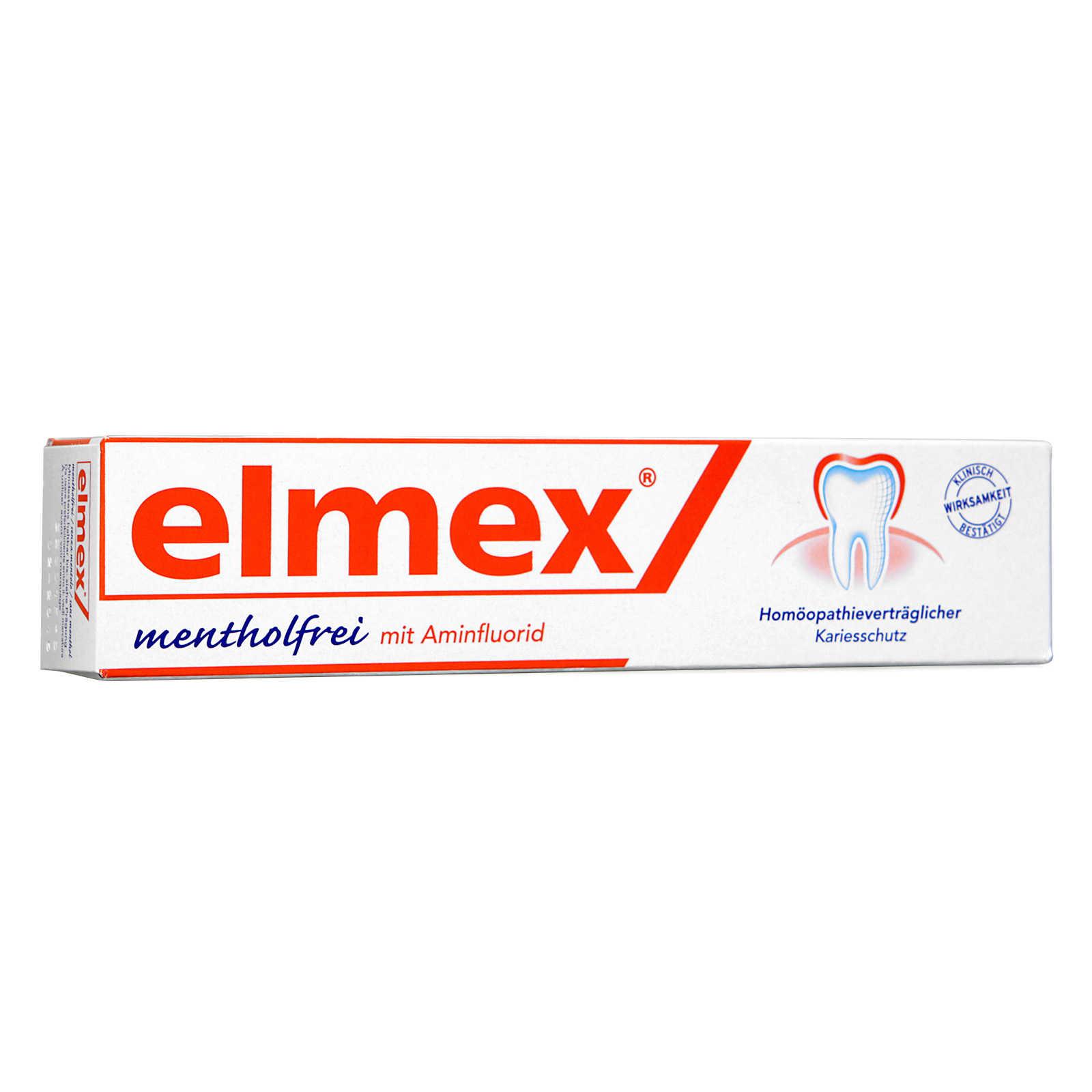 Mentolo - Elmex - Dentifricio Senza Mentolo