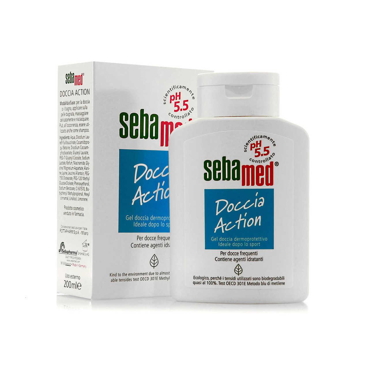 Sebamed - Gel Doccia Dermoprotettivo - Action