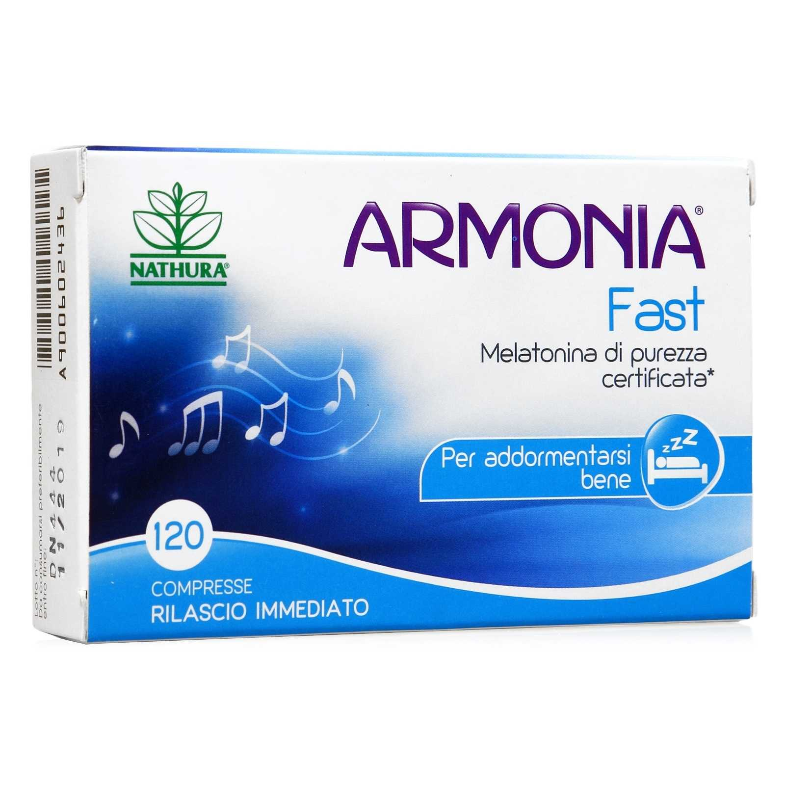 Armonia - Fast - Melatonina 1mg