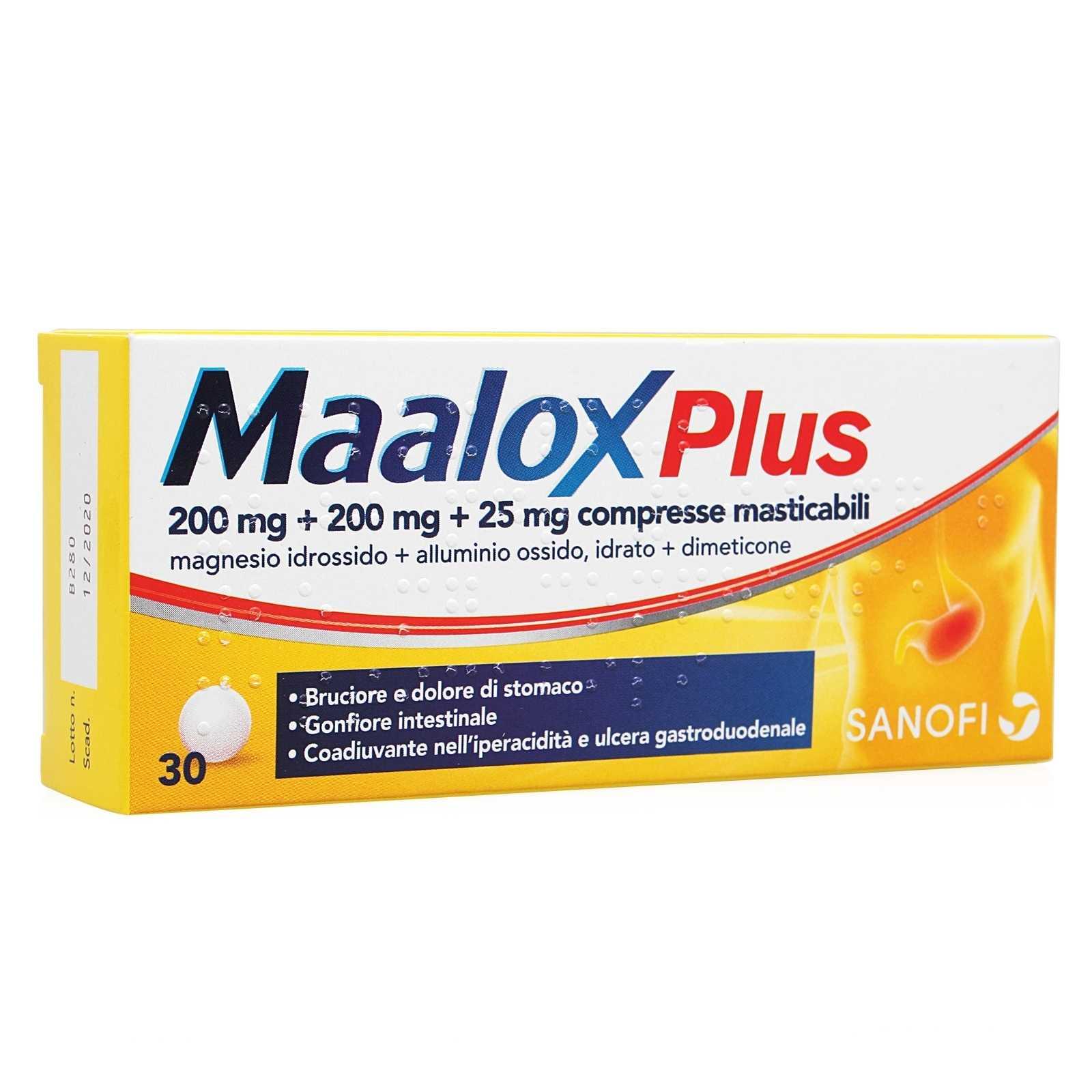 Maalox - Plus - Compresse masticabili